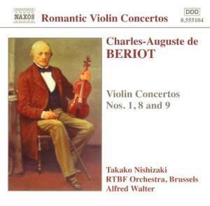 Violinkonzerte 1,8+9, Nishizaki, Walter, Rtbf So