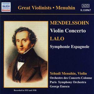 Violinkonzerte, Menuhin, Enescu, Paris So