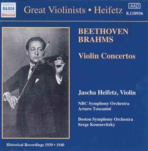 Violinkonzerte, Jascha Heifetz, Toscanini, Kouss