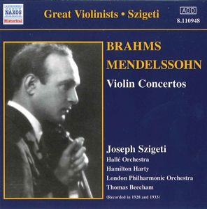 Violinkonzerte, Joseph Szigeti, Beecham, Harty
