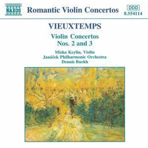 Violinkonzerte 2+3, Keylin, Burkh, Janacek Philh.Or