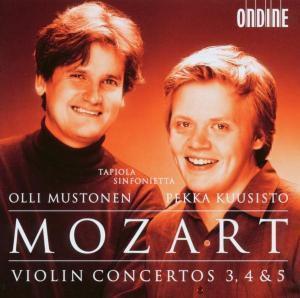 Violinkonzerte 3/4 & 5, Kuusisto P, Tapiola Sinf., Olli Mustonen