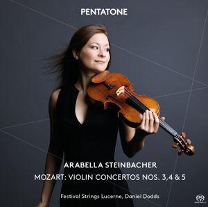 Violinkonzerte 3-5, Wolfgang Amadeus Mozart
