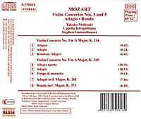 Violinkonzerte 3+5/Rondo/+ - Produktdetailbild 1