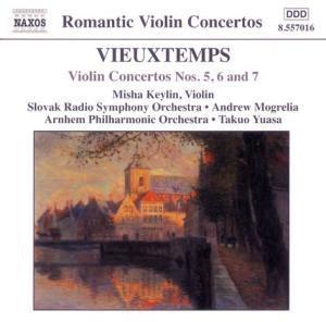 Violinkonzerte 5 - 7, Keylin, Mogrelia, Yuasa
