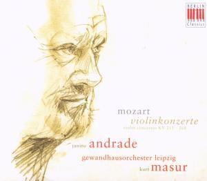 Violinkonzerte Kv 211,268, Janine Andrade, Kurt Masur, Gol