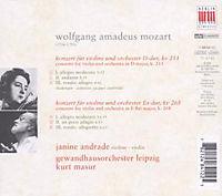 Violinkonzerte Kv 211,268 - Produktdetailbild 1