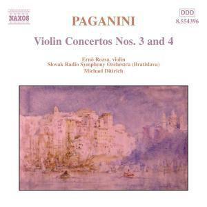 Violinkonzerte Nr. 3 E-dur / Nr. 4 d-moll, Ernö Rozsa, Dittrich, Srso