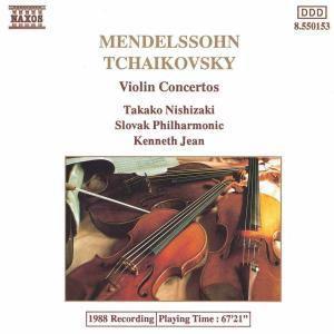 Violinkonzerte Op.64+Op.35, Nishizaki, Jean, Slowak.Philh.
