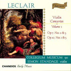 Violinkonzerte Vol. 1 (op. 7 Nr. 2 & 5 / op. 10 Nr. 1 & 5), Simon Standage, Cm90