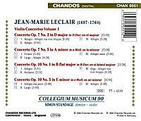 Violinkonzerte Vol. 1 (op. 7 Nr. 2 & 5 / op. 10 Nr. 1 & 5) - Produktdetailbild 1