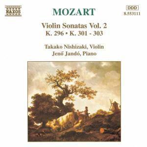 Violinsonaten 1+2+3+8, Takako Nishizaki, Jenö Jando