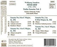 Violinsonaten 1+2+3+8 - Produktdetailbild 1