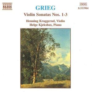 Violinsonaten 1-3, H. Kraggerud, H. Kjekshus