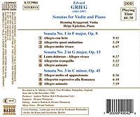 Violinsonaten 1-3 - Produktdetailbild 1
