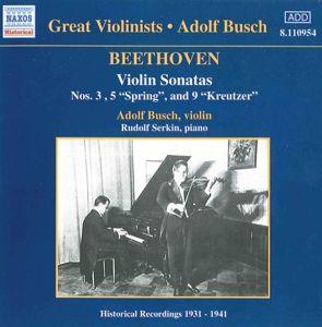 Violinsonaten, Adolf Busch, Rudolf Serkin