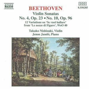 Violinsonaten 4+10/+, Takako Nisnizaki, Jenö Jando