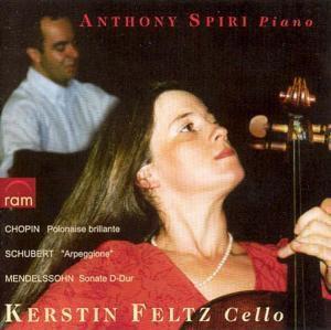 Violoncello Und Klavier, Kerstin Feltz