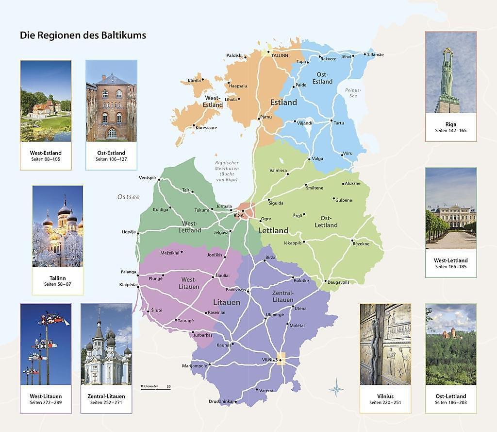 Vis-à-Vis Reiseführer Baltikum. Estland, Lettland & Litauen ...