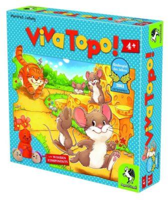 Viva Topo, englische Ausgabe (Kinderspiel)