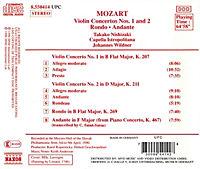 Vl.Konz.1+2*Naxos - Produktdetailbild 1