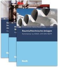 VOB/C Kommentare ATV DIN 18379, 18380, 18381, 3 Bde., Andreas Braun, Clemens Schickel, Stefan Tuschy, Matthias Wagnitz