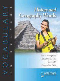 Vocabulary in Context: History and Geography Words-The Florida Everglades, Saddleback Educational Publishing
