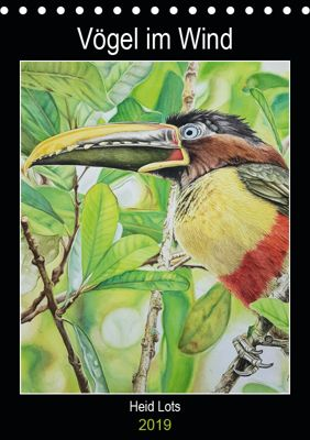 Vögel im Wind (Tischkalender 2019 DIN A5 hoch), Heidi Lots