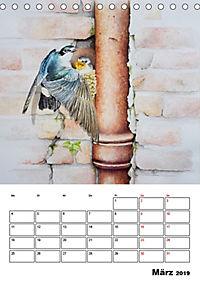 Vögel im Wind (Tischkalender 2019 DIN A5 hoch) - Produktdetailbild 3