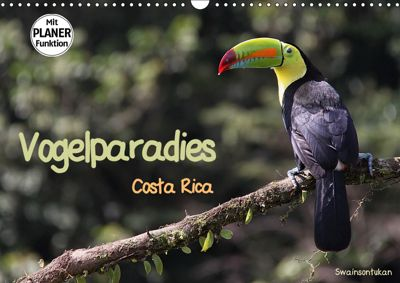 Vogelparadies Costa Rica (Wandkalender 2019 DIN A3 quer), Walter Imhof