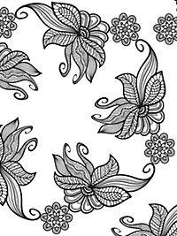 Vogelschwarm im Blütenmeer - Produktdetailbild 4