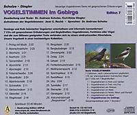 Vogelstimmen, Audio-CDs: Ed.7 Vogelstimmen im Gebirge, 1 Audio-CD - Produktdetailbild 1