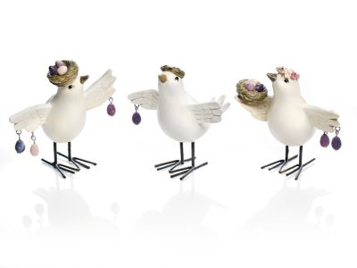 Vogeltrio, 3er-Set