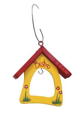 Vogelvilla Futterschaukel Minibistro gelb