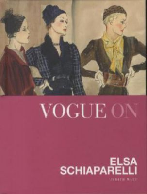 vogue on elsa schiaparelli buch portofrei bei. Black Bedroom Furniture Sets. Home Design Ideas