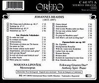 Volkslieder/Zigeunerlieder Op.103 - Produktdetailbild 1