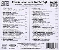 Volksmusik Vom Kerberhof - Produktdetailbild 1