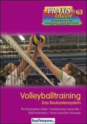 Volleyballtraining, Til-Christopher Kittel, Heidemarie Lamschik, Olaf Kortmann, Ernst-Joachim Hossner