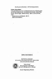 Vollzugshilfe Bodenschutz und Altlastensanierung - Produktdetailbild 3