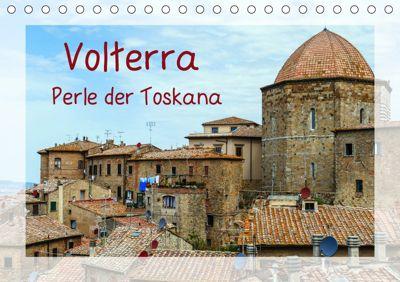 Volterra Perle der Toskana (Tischkalender 2019 DIN A5 quer), Gabi Hampe
