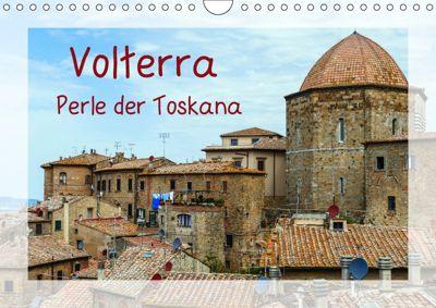 Volterra Perle der Toskana (Wandkalender 2019 DIN A4 quer), Gabi Hampe