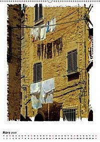 Volterras Gassen (Wandkalender 2019 DIN A2 hoch) - Produktdetailbild 3