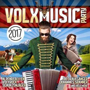 Volxmusic Party Vol.1, Diverse Interpreten