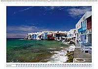 Von Athen bis Amorgos - Die Kykladen entdecken (Wandkalender 2019 DIN A2 quer) - Produktdetailbild 7