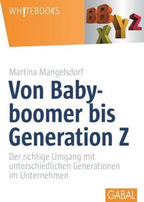 Von Babyboomer bis Generation Z, Martina Mangelsdorf