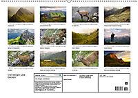 Von Bergen und Böcken (Wandkalender 2019 DIN A2 quer) - Produktdetailbild 1