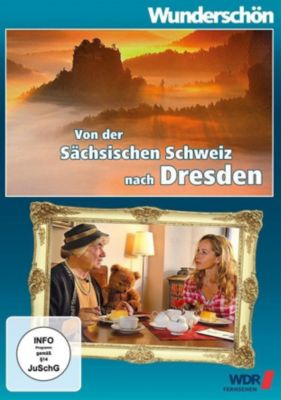 Von der Sächsischen Schweiz nach Dresden - Entlang des Elberadweges, DVD