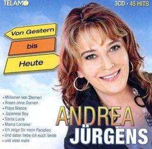Von gestern bis heute (3CD-Box), Andrea Jürgens