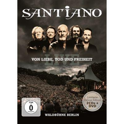 Von Liebe Tod und Freiheit - Live (Limitierte Deluxe Edition, 2 CDs + DVD), Santiano