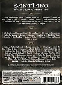 Von Liebe Tod und Freiheit - Live (Limitierte Deluxe Edition, 2 CDs + DVD) - Produktdetailbild 1